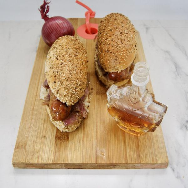 Hot-dogs au sirop d'érable
