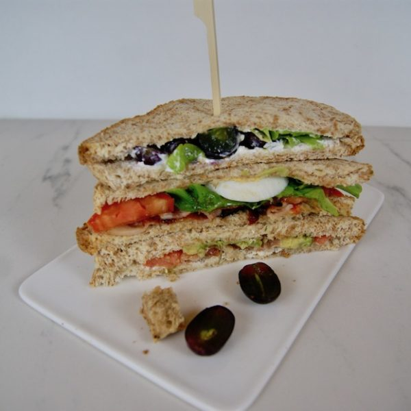 3 clubs sandwichs