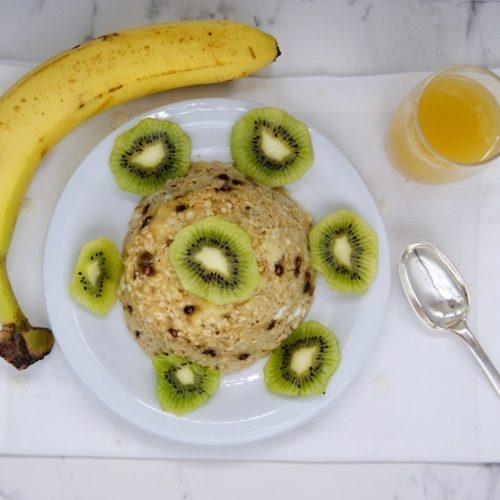 Bowl Cake banane-kiwi