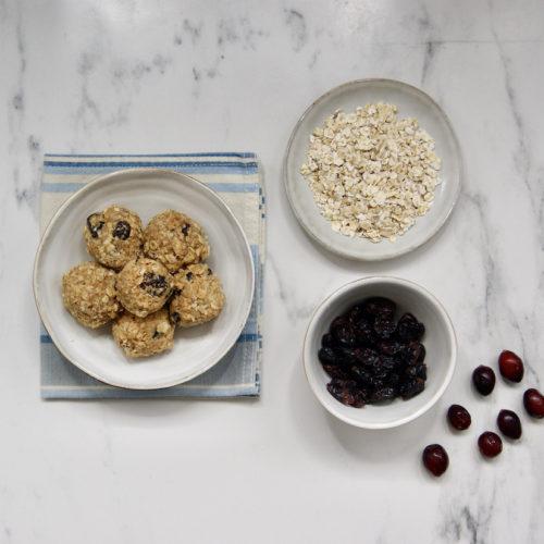 Boules énergie peanut butter-coco