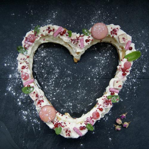 Grand coeur de Saint Valentin