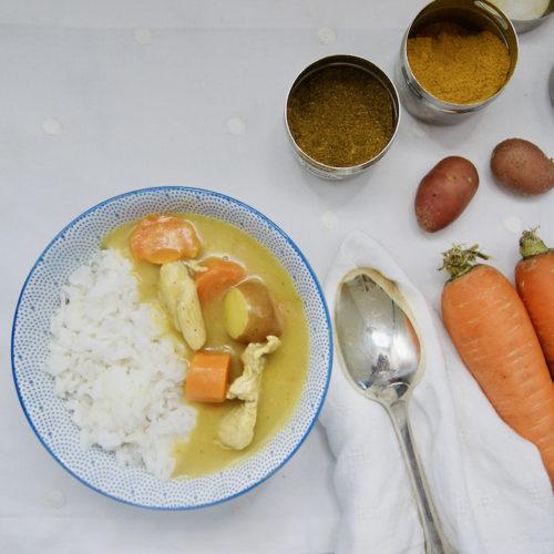 Curry japonais au poulet